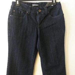 Nine West Jeans Size 2P 25 Bleecker Fit Bootcut
